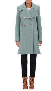 Chloé Women's Brushed Wool Twill Peacoat