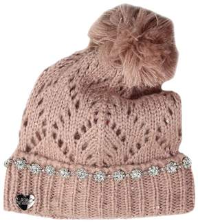 Betsey Johnson On the Rocks Cuff Hat Caps