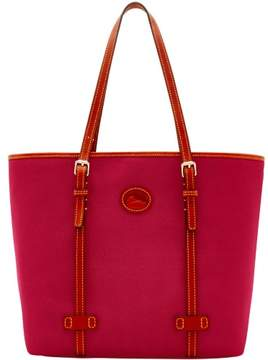 Dooney & Bourke Nylon East West Shopper Tote - CRANBERRY - STYLE