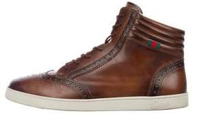 Gucci Brogue Wingtip Sneakers