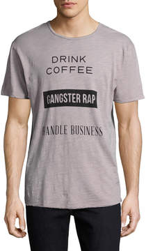 Kinetix Men's Drink Coffee Rap Tee