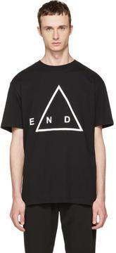 McQ Black End T-Shirt