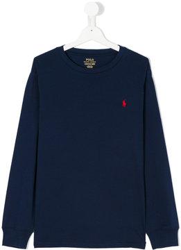 Ralph Lauren Kids classic knitted top