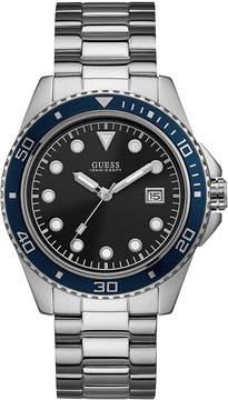 GUESS Men's Stainless Steel Bracelet Watch 44mm