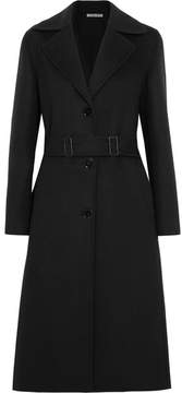 Bottega Veneta Belted Cashmere Coat - Black
