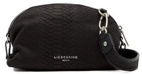 Liebeskind Berlin Tuscon Handcut Python Embossed Rounded Leather Crossbody Bag