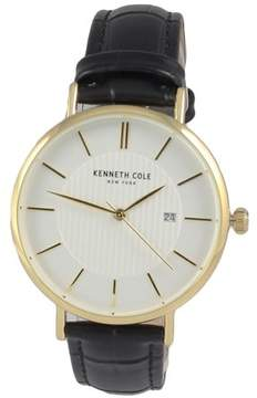 Kenneth Cole Leather Mens Watch KC50037006