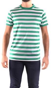 Paul & Shark Men's Green Cotton T-shirt.