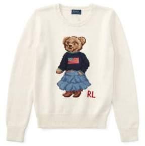 Polo Ralph Lauren Bear Sweater Essex Cream S