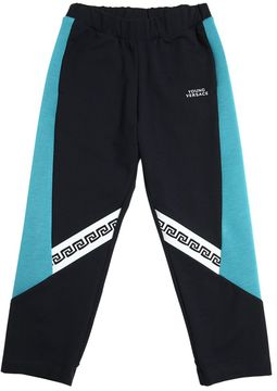 Cotton Sweatpants W/ Neoprene
