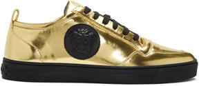 Versace Gold Medusa Sneakers