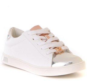 MICHAEL Michael Kors Girls' Ollie Janna Metallic Color Block Lace-Up Sneaker