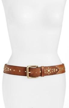 Frye Women's Studded Leather Belt