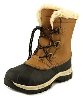 BearPaw Kelly Youth Youth Round Toe Leather Snow Boot.