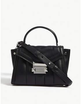 MICHAEL Michael Kors Whitney mini leather satchel