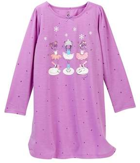 Petit Lem Ballet Recital Nightgown (Toddler & Little Girls)