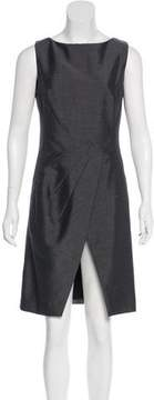 Christian Dior Mohair & Wool-Blend Knee-Length Dress