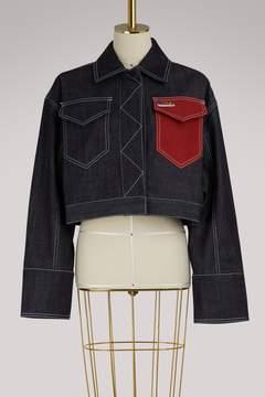 Kenzo Denim cropped jacket
