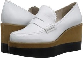 Jil Sander Navy JN27034 Women's Wedge Shoes