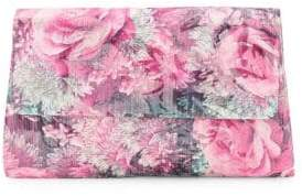 Adrianna Papell Sophia Floral Convertible Clutch