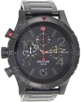 Nixon 48-20 Chrono All-Black Men's Watch, A4861320