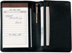 Royce Leather Deluxe Note Jotter Organizer