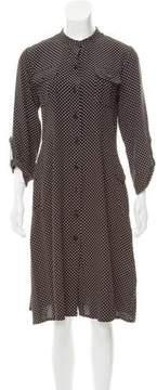 Aquascutum London Silk Midi Dress