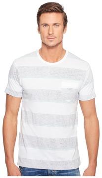 VISSLA Krakatoa Short Sleeve All Over Reverse Printed Pocket Tee Men's T Shirt