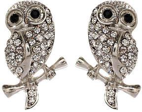 Amrita Singh Silver Baby Owl Stud Earrings