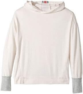 Splendid Littles Speckle Baby French Terry Hoodie Sweatshirt Girl's Sweatshirt