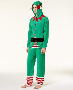Bioworld Men's Santa's Helper Onsie