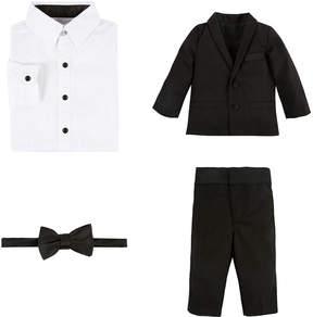 Andy & Evan Boys' 4Pc Tuxedo Suit Set