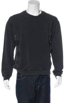 RtA Denim Distressed Sweatshirt