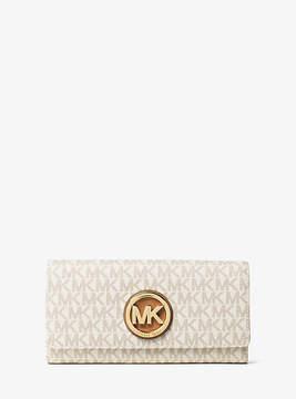 Michael Kors Fulton Logo Carryall Wallet - NATURAL - STYLE