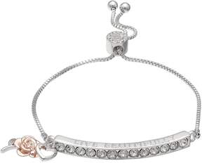Brilliance+ Brilliance Live Beautifully Adjustable Bracelet with Swarovski Crystals