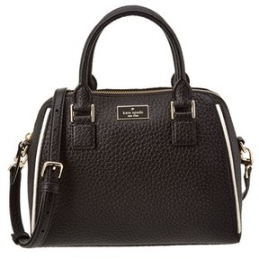 Kate Spade Prospect Place Small Pippa Leather Satchel. - BLACK - STYLE