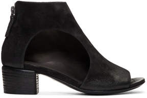 Marsèll Black Suede Bo Sandalo Boots