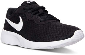 Nike Big Boys' Tanjun Casual Sneakers from Finish Line