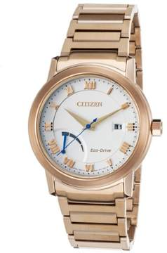 Movado Citizen Eco-Drive Rose Gold-Tone Men's Watch, AW7023-52A