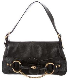 Gucci Horsebit Chain Shoulder Bag - BLACK - STYLE