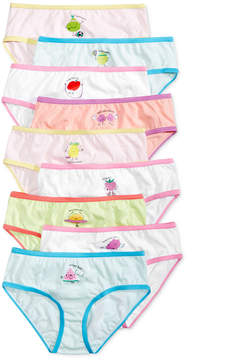 Maidenform 9-Pk. Fruity Days of the Week Cotton Brief Underwear, Little Girls & Big Girls
