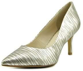 Alfani Jeules Pointed Toe Leather Heels.