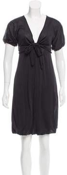 Trussardi Silk Knee-Length Dress w/ Tags