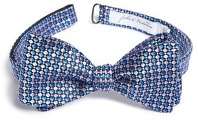 John W. Nordstrom Men's Geometric Silk Bow Tie