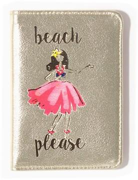 Beach Please Hula Passport Cover