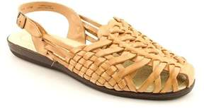 Softspots Tobago N/s Round Toe Leather Fisherman Sandal.