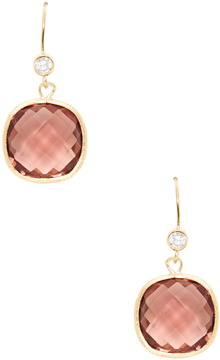 Rivka Friedman Women's Purple Tourmaline Crystal & CZ Drop Earrings