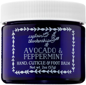 Captain Blankenship Avocado & Peppermint Hand, Cuticle & Foot Balm