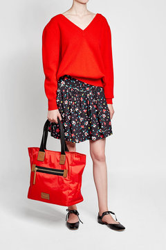 Marc Jacobs Fabric Tote - RED - STYLE