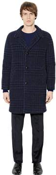 Blend of America Faded Houndstooth Alpaca Coat